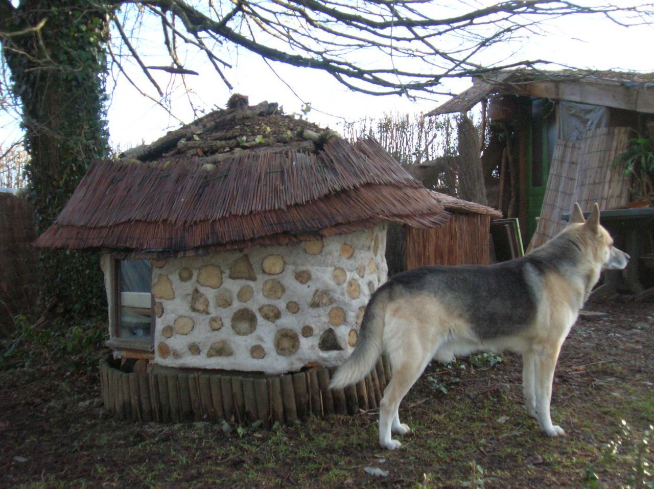 Chauffage ecolo pour chats dans une cabane en bois corde for Cabane exterieur pour chat